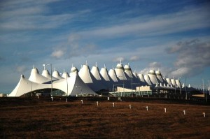 Denver International Airport: First stop
