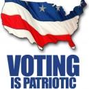 voting patriotic